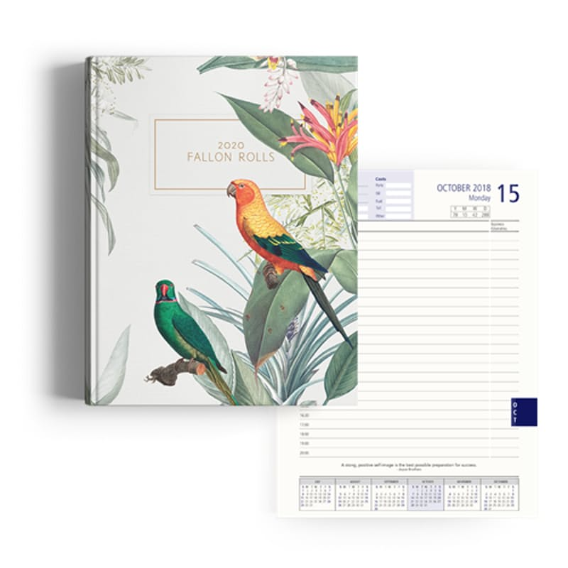 Personalized A4 Luxury Hardcover 2020 Diary