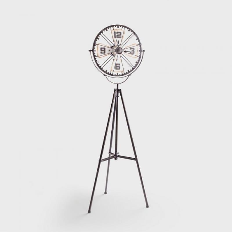 Tripod Iron Floor Clock