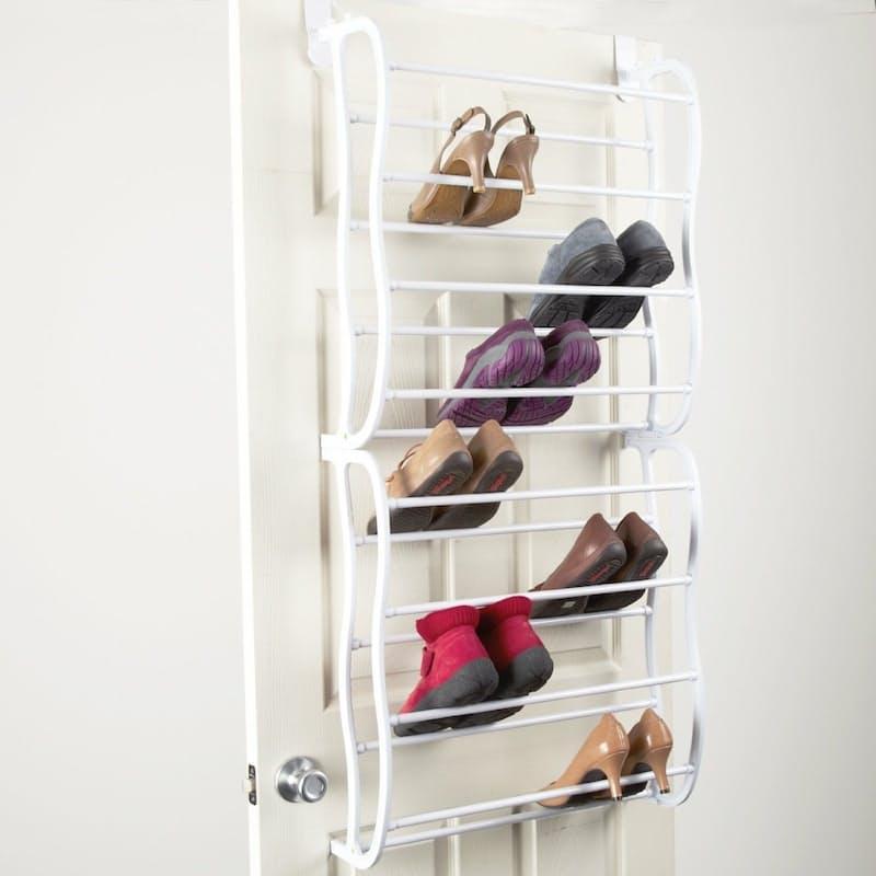 24 Pair Hanging Shoe Rack Organiser