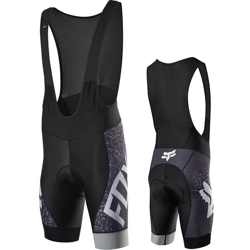 Men's Ascent Comp Bib Shorts with PRO Chamois in Charcoal