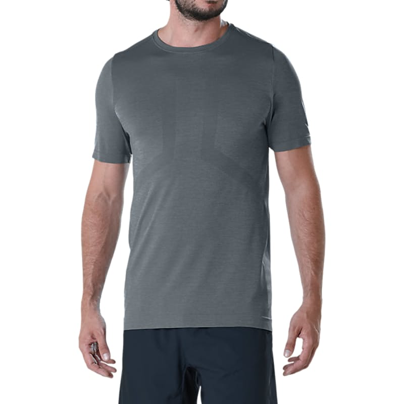 Men's Seamless SS Top in Carbon