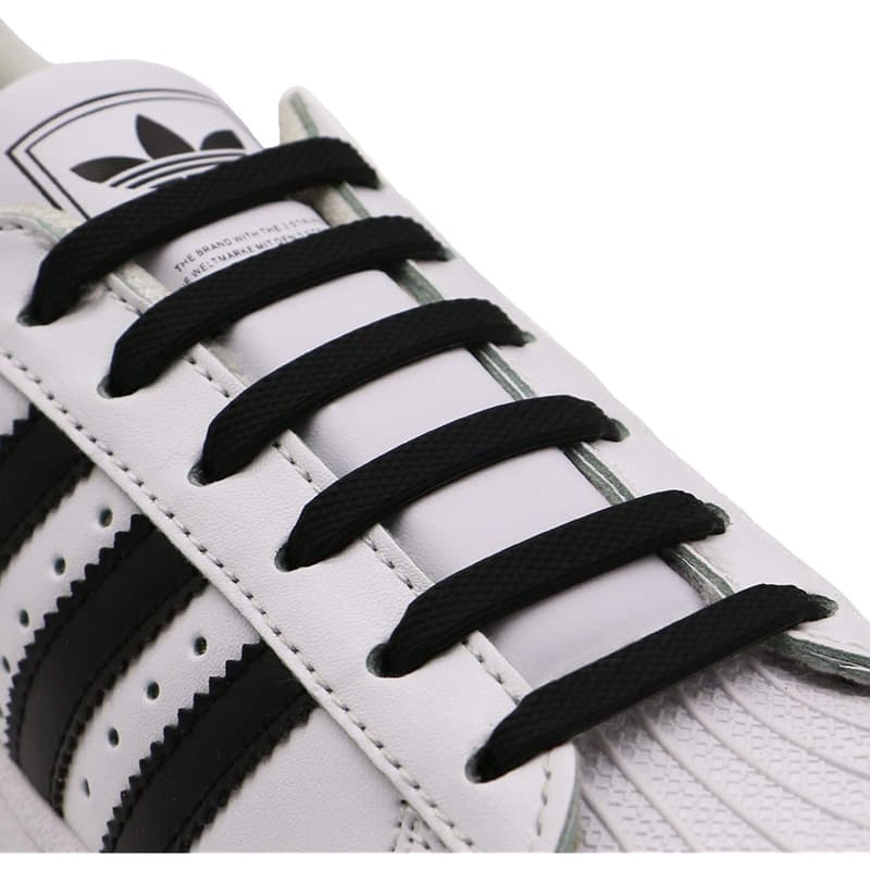 Pack of 2 No Tie Flat Elastic Shoe Laces (2 Pairs)