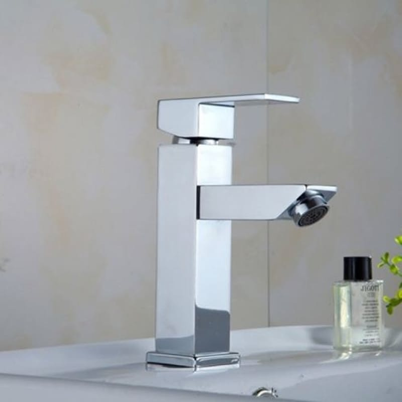 Square Bathroom Faucet