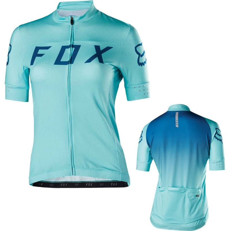 Women's Switchback Jersey- Ice Blue