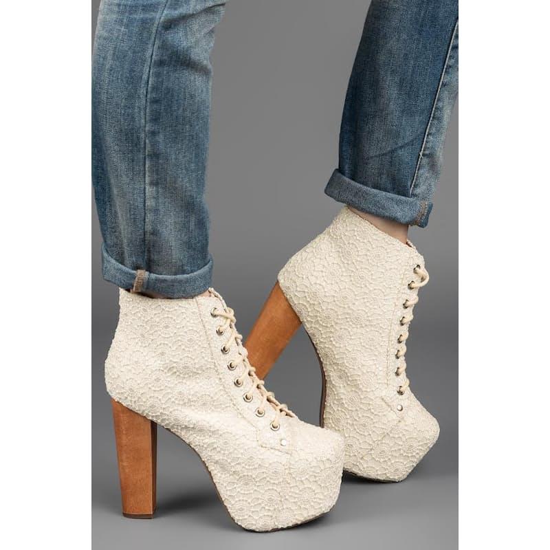 29 Off On Jeffrey Campbell Lita Wedding Shoe Onedayonly Co Za