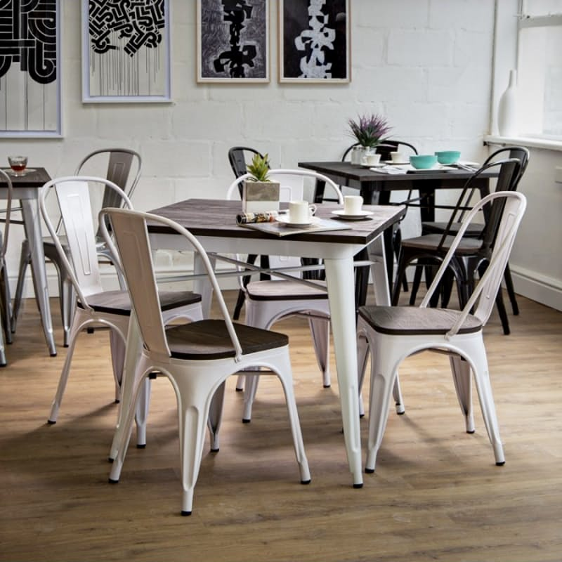 Ultra-Modern Metal Dining Table