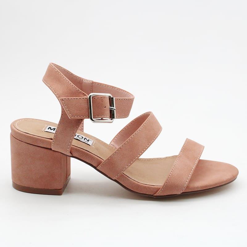 Ladies Contemporary Block Heel