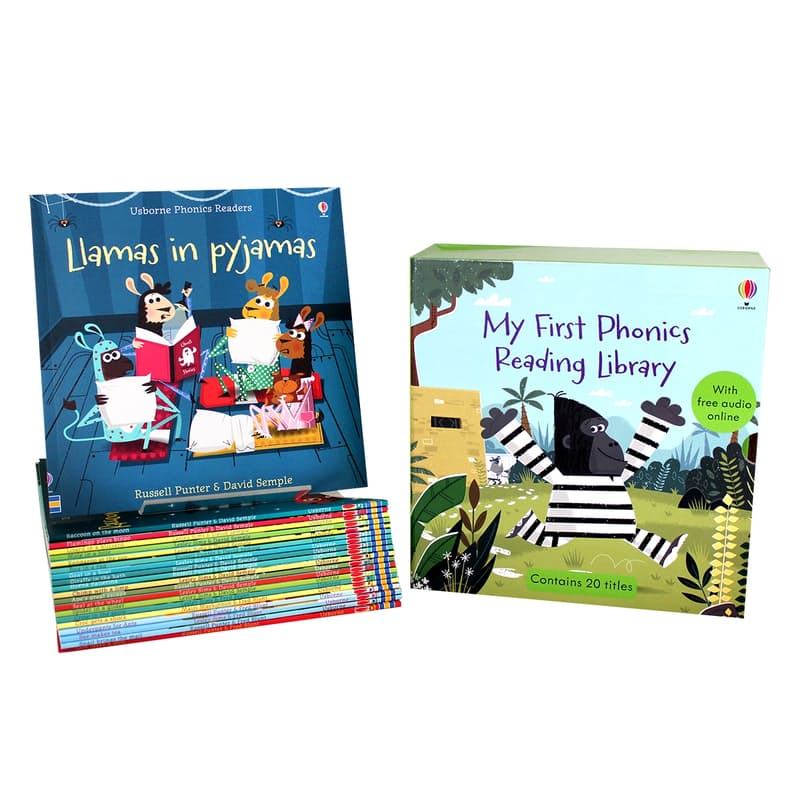 My First Phonics Reading Library (20 Books & Free Online Audio)