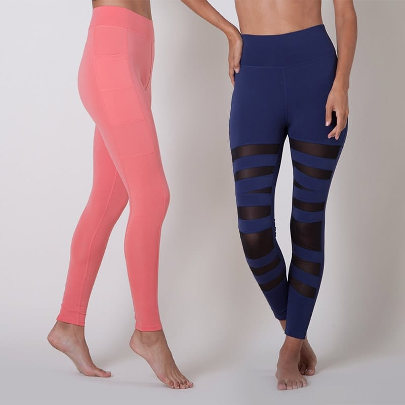 High Waisted 4-Way Stretch Long Compression Tights