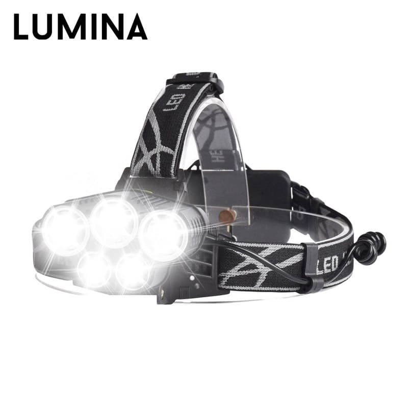 3500 Lumen 5 LED Headlamp