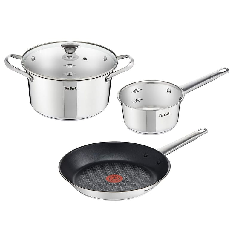 4 Piece Simpleo Stainless-steel Cookware Set