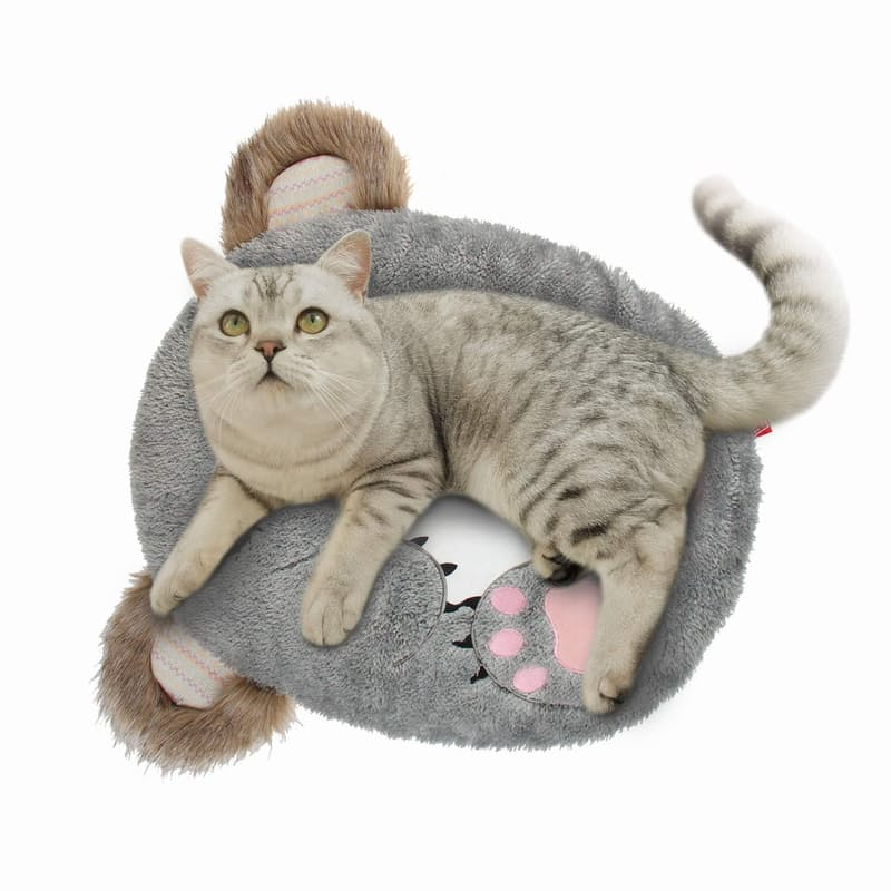 Plush Cat or Dog Sleeping Cushion (52cm Length)