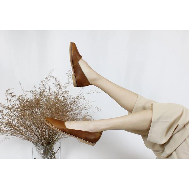 African Handmade Linde Loafer Shoes