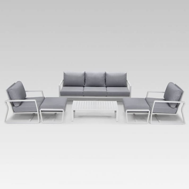 Contemporary Patio Lounge Set