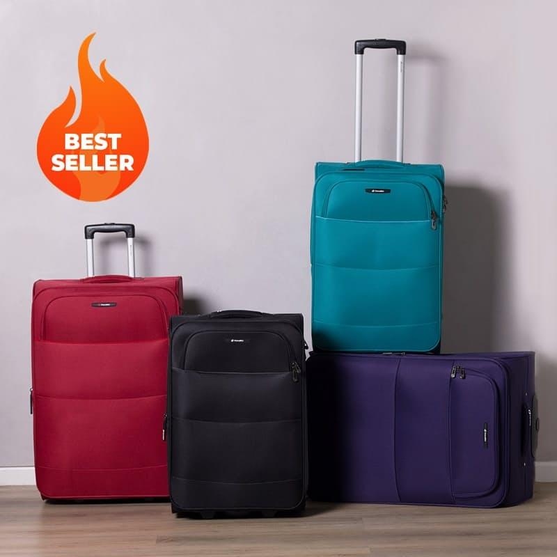 57cm or 69cm Retro II Ultra Light 2 Wheel Trolley Suitcase