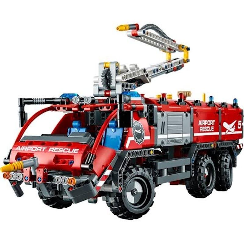 1098-Piece Technic Airport Rescue Vehicle