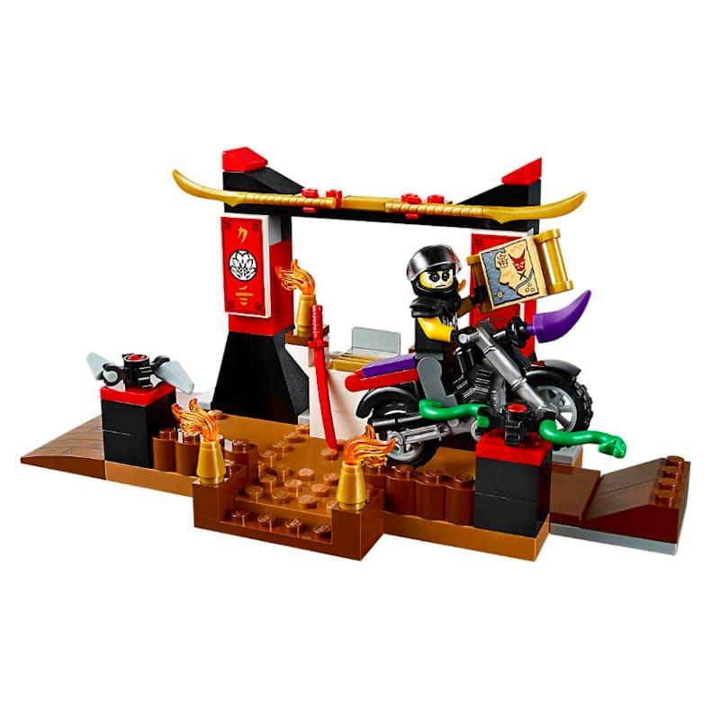 131-Piece Ninjago Zane's Ninja Boat Pursuit
