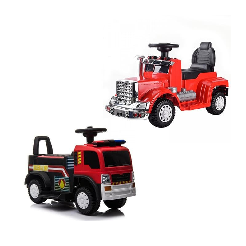 Kids Ride-On Fire or Lorry Truck