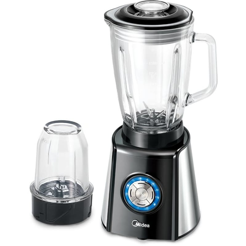 1.5L Pro Glass Jug Blender with 400ml Grinder Cup