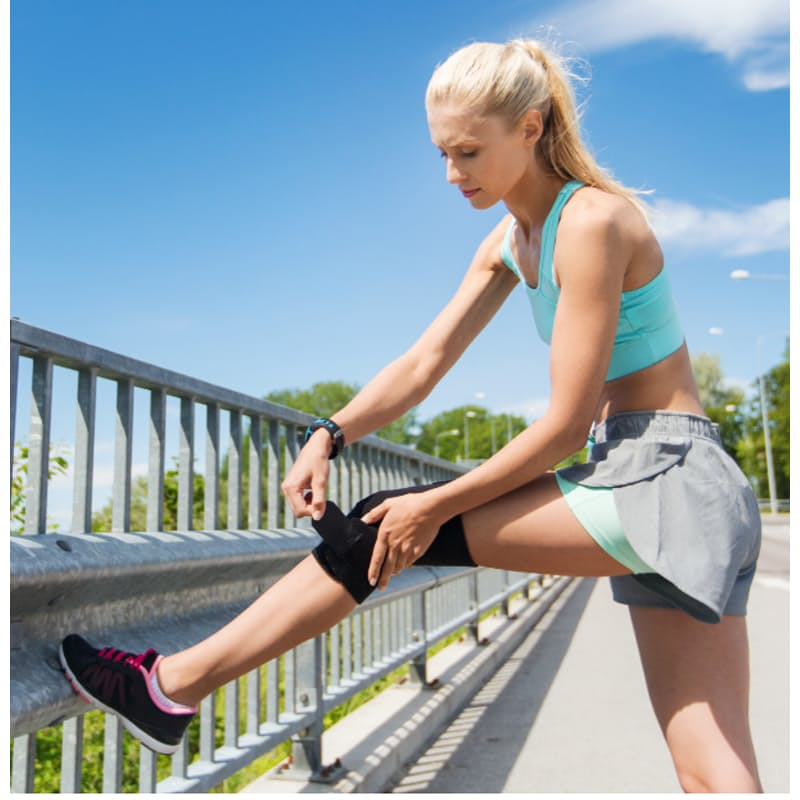 Pain Relieving Knee Stabilizer