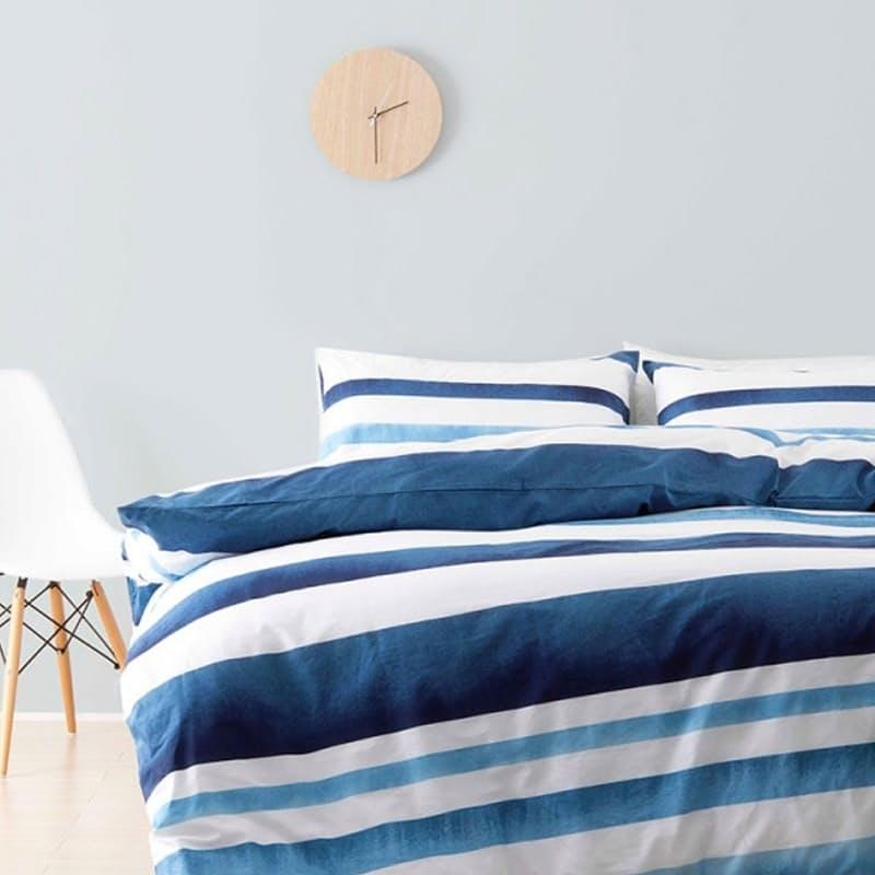 Ibiza Blue Duvet Cover Set (with Standard Pillowcases)