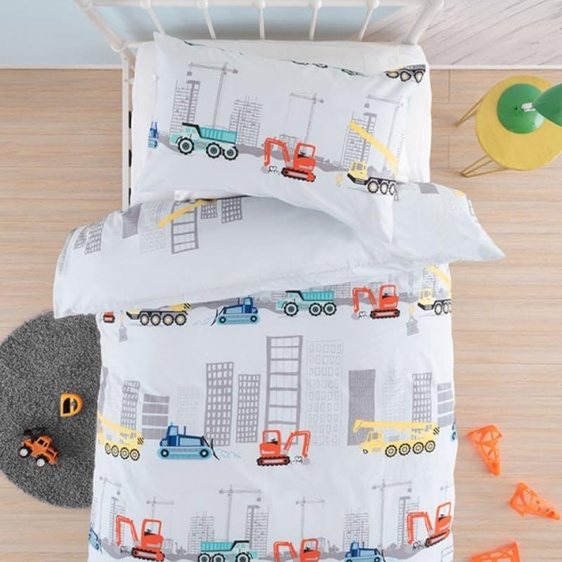 Skyline Multi Duvet Cover Set (with Standard Pillowcases)