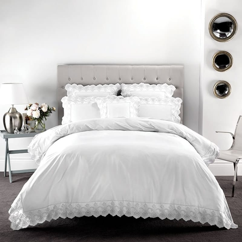 Pearl Duvet Cover Set (with Standard Pillowcases)