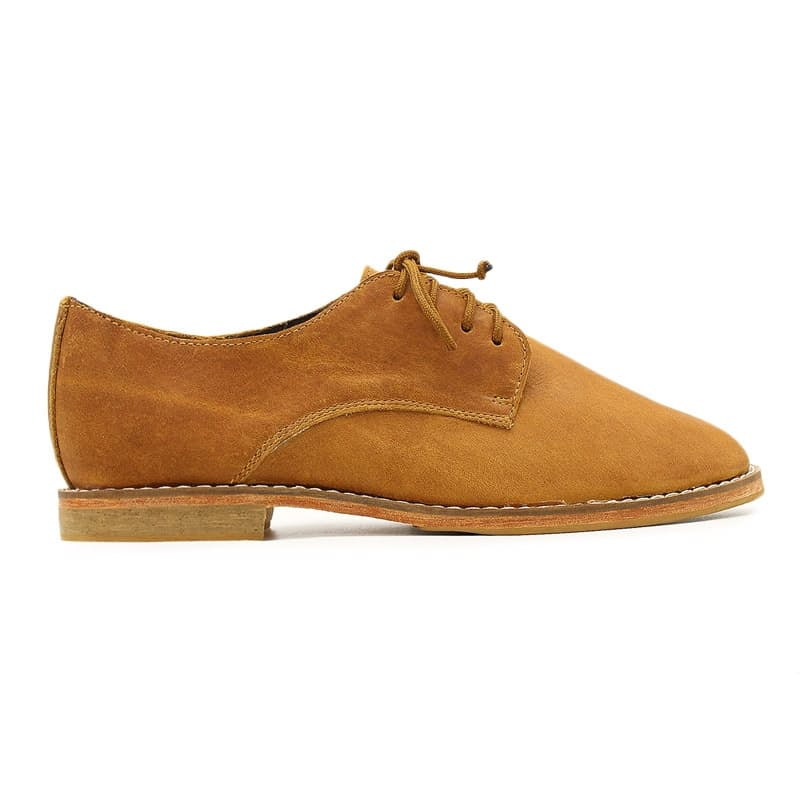 African Handmade Liyana Oxford Toffee Shoes