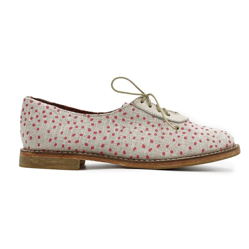 African Handmade Xolani Dotted Shoes