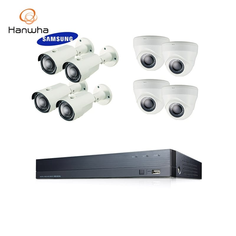 8 or 16-Channel Home Surveillance CCTV Kit