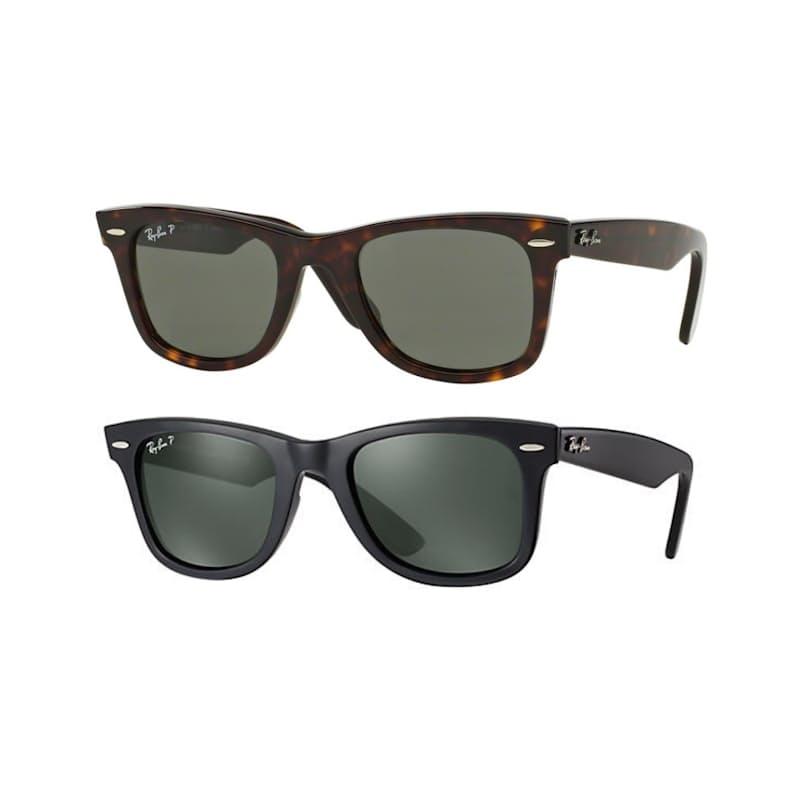 Unisex Polarized Original Wayfarer Sunglasses (Slightly Scratched Lens)