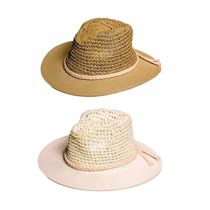 "CANSA Approved ""Claremont"" Crushable Summer Beach Hat"