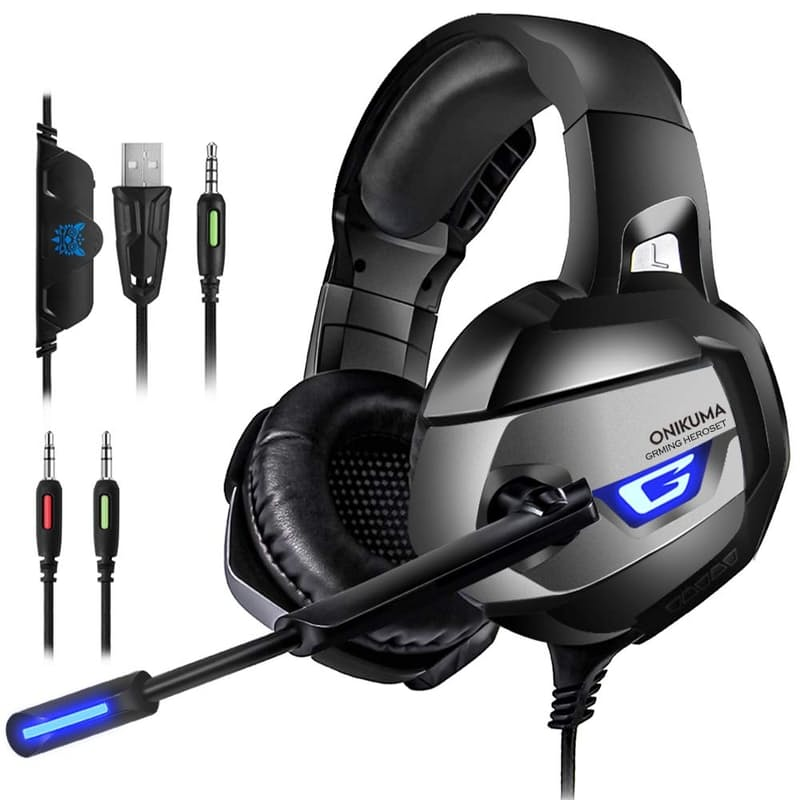 K5 Stereo Gaming Headset for PS4 PC Xbox