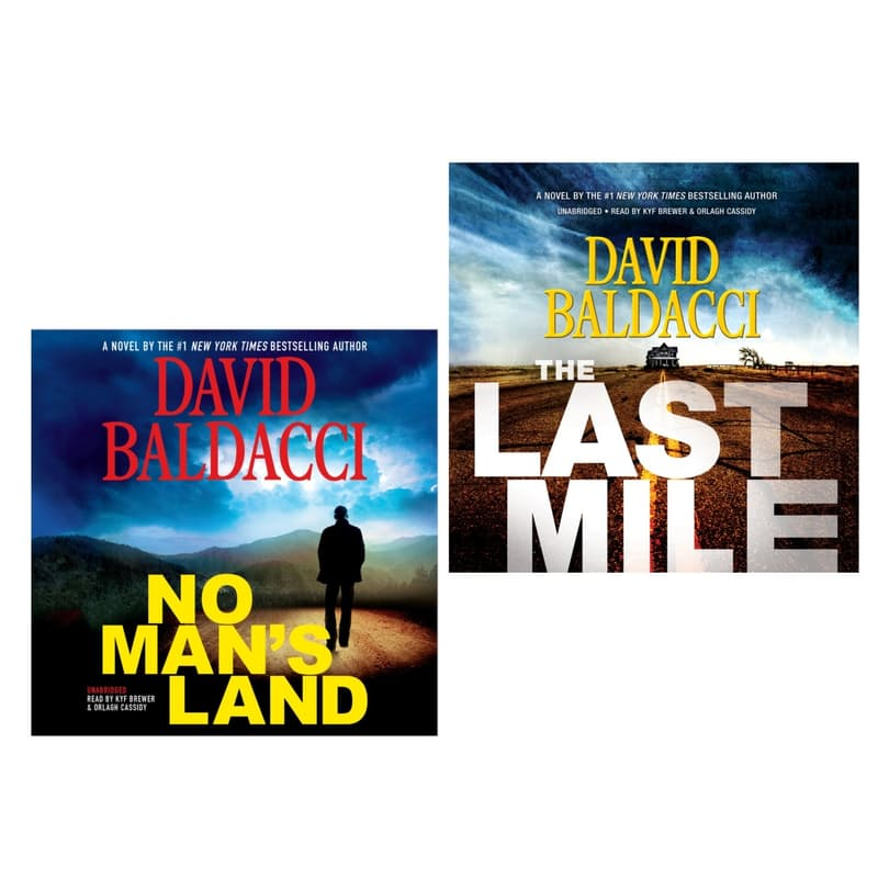 Book Bundle (No Mans Land + The Last Mile)