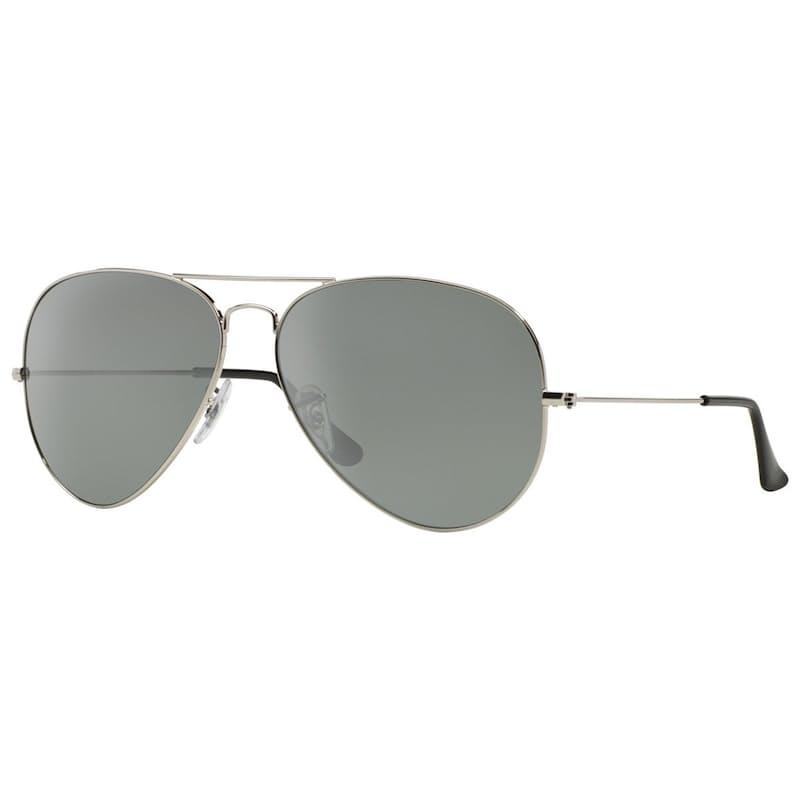 Unisex Aviator Metal Frame Sunglasses