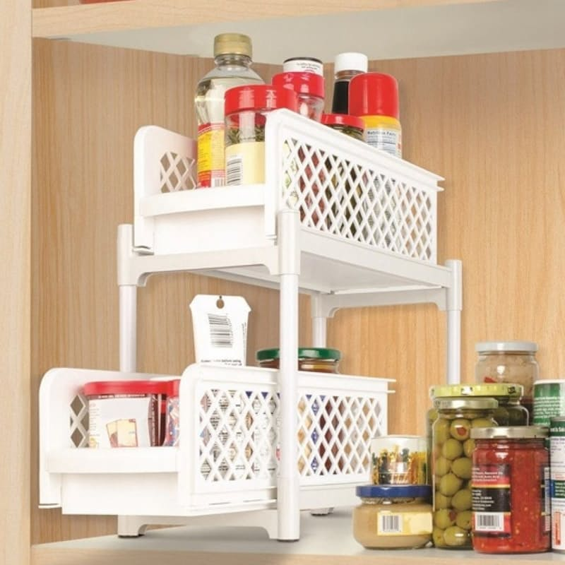 Versatile Sliding Basket Drawer Organisers