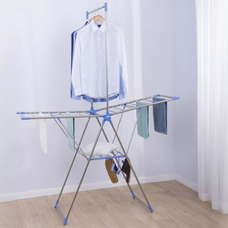 Foldable Double Layer Y Drying Rack
