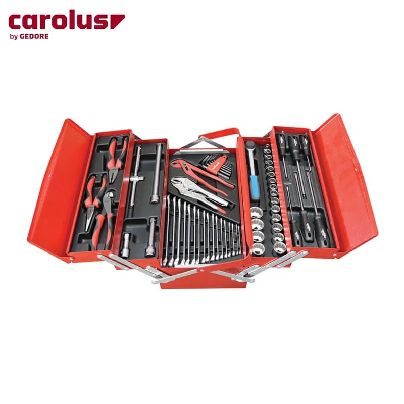 62 Piece Tool Assortment with Toolbox