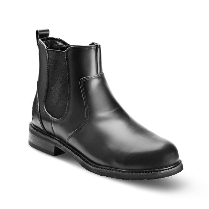 Full Grain Leather Formal Chelsea Boot with Steel Toe Cap