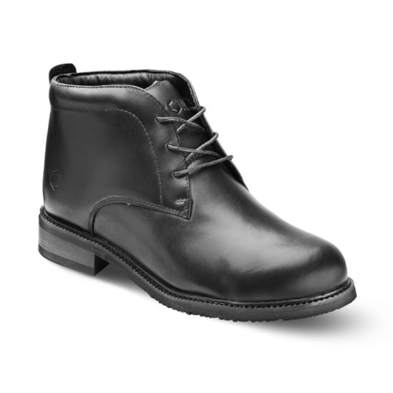 Full Grain Leather Formal Chukka Boot with Steel Toe Cap