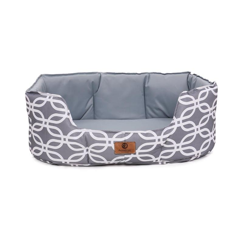 Charlie High Side Canvas Pet Bed