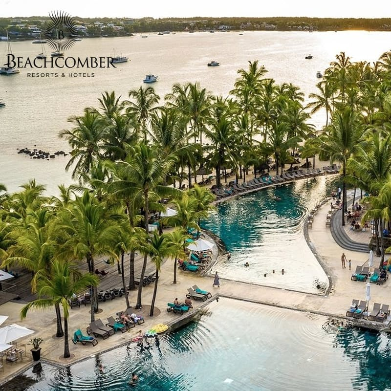 5-Night Stay in the 4* or 5* Beachcomber Properties Including Return Flights and Breakfast and Dinner Daily per Person