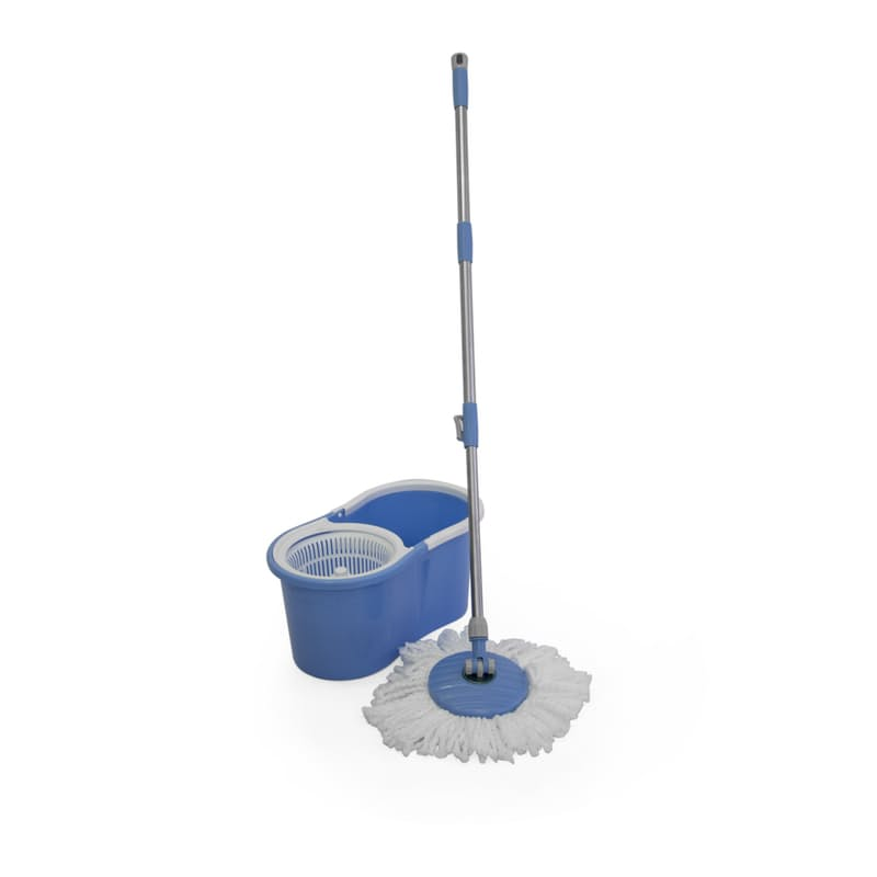 Blue Figure 8 Spin Mop