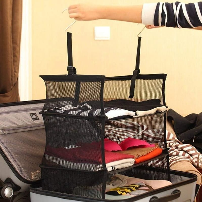 Collapsible Suitcase Shelves