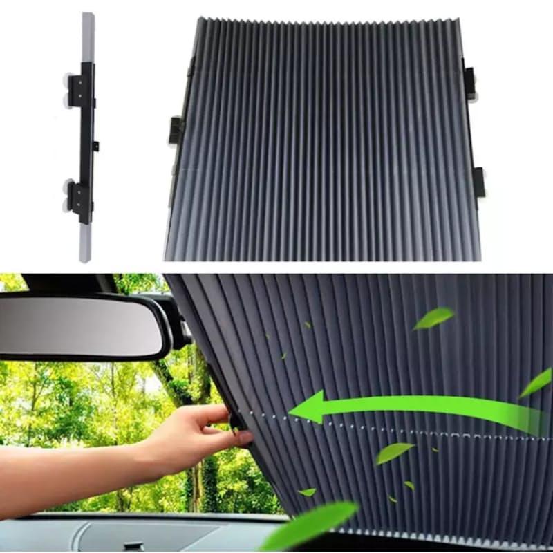 Retractable Car Sunshade