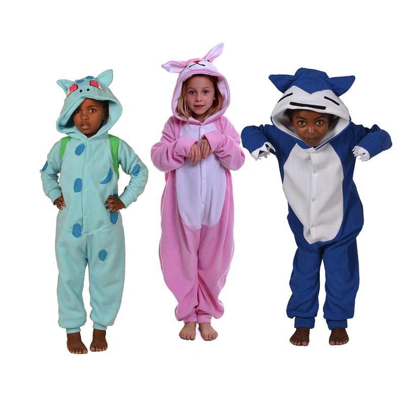 Kids Polar Fleece Onesies
