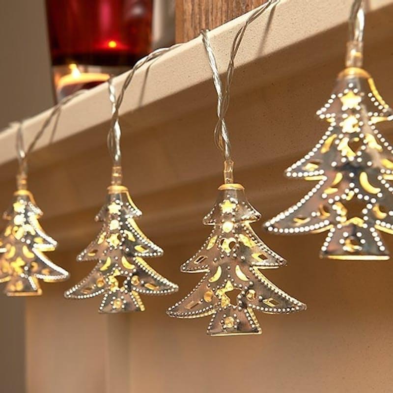 Christmas Tree-shaped Fairy Lights (3m)
