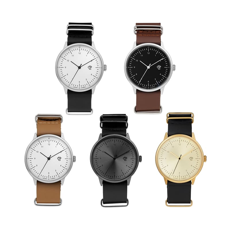 Harold Watch with Leather Strap