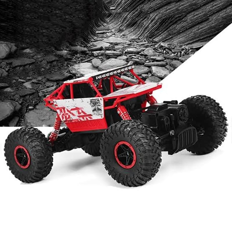 2.4Ghz 1/18 Remote Controlled Rock Crawler Vehicle with 4 Wheel Drive