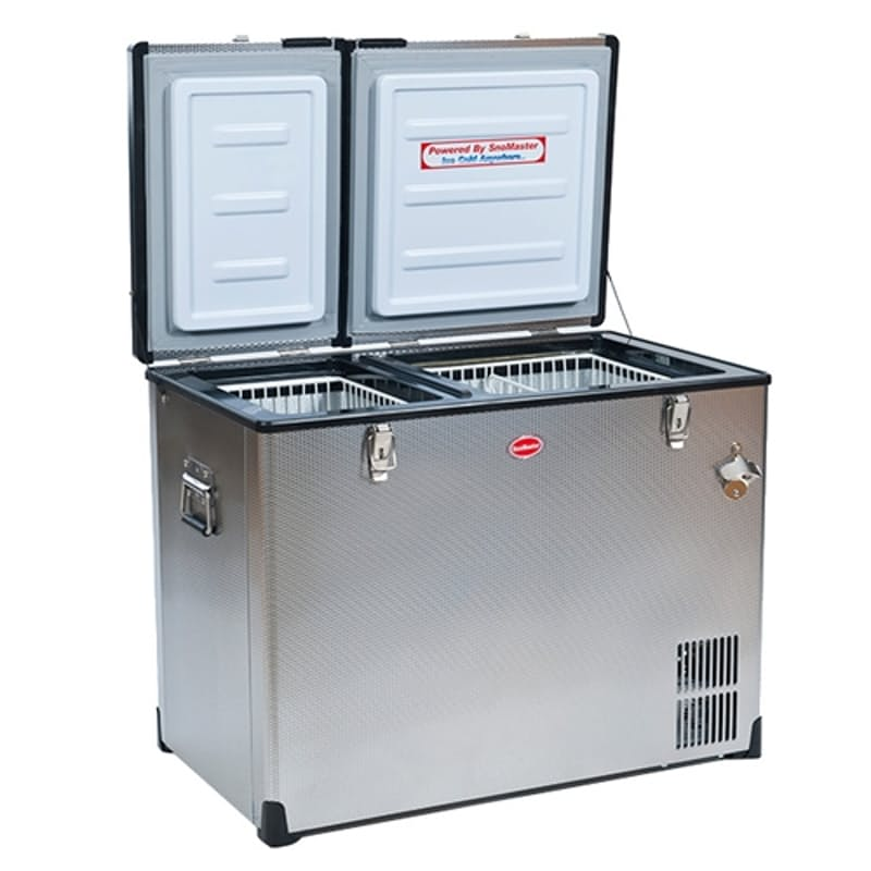 85L Stainless Steel Dual Camping Fridge